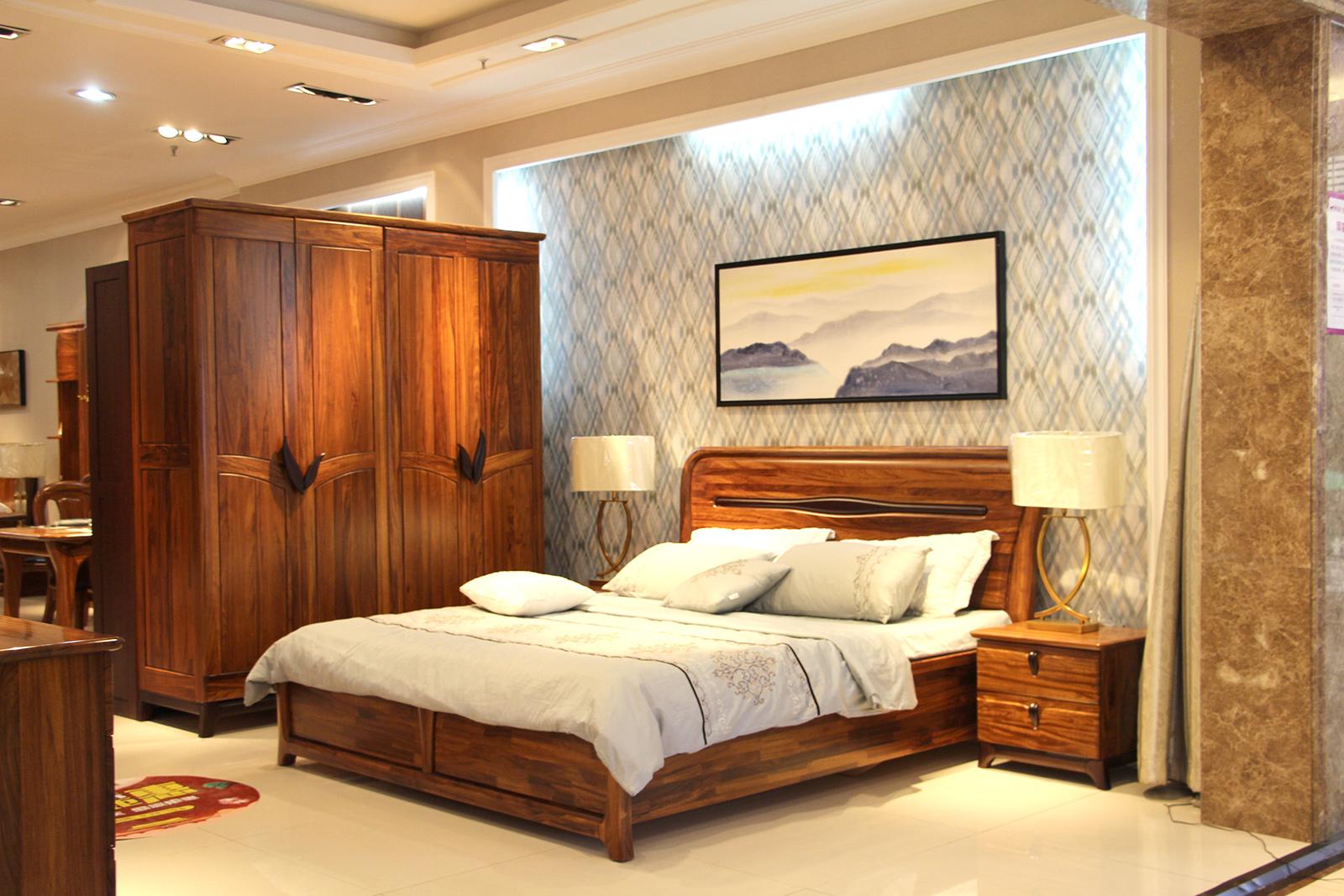 世纪腾达乌金木卧室家具 打造雅致北欧风