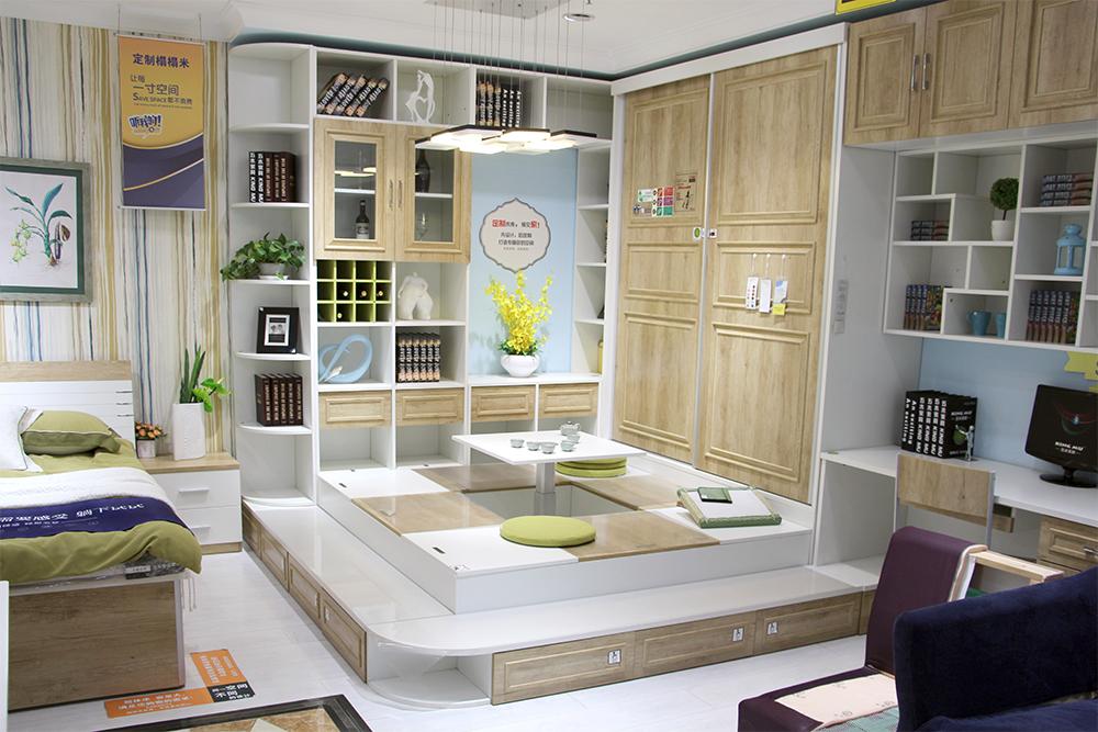 五木板式定制家具 合理利用每一寸空间