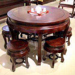 百年印记 Z10-1 圆桌+Z10-2圆桌凳子