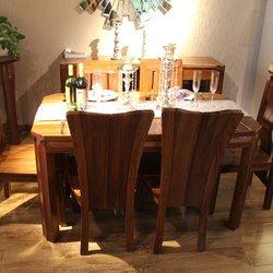 意利达 605515+605502+605615+605611 餐桌+餐椅*6