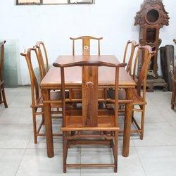 正明红木 明式餐桌