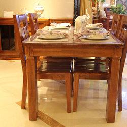 安达尔 801-CZ餐桌+803-CN餐椅*4