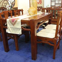 古艺坊 G-S-03 世纪同心双人椅+小桌
