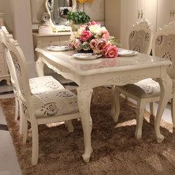 诺玛尼 三玫瑰椅+发誓餐桌