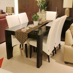 顾家家居 KUKA157T餐桌+VB-1餐椅