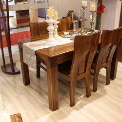 超一纯家具 8140餐桌+838餐椅*4