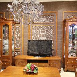 欧雅格  YS101  小酒柜+电视柜+大酒柜