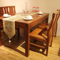 华谊家具 XH403 餐桌+餐椅