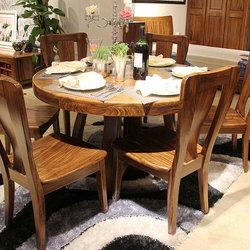 志华 WJ-E11餐桌+WJ-N69餐椅*6
