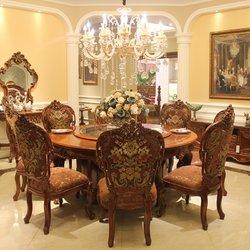 晓月蕾曼 LS123-180 圆餐桌
