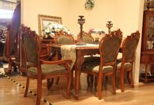 斯贝迪曼家具样品特卖餐桌+6椅12880元