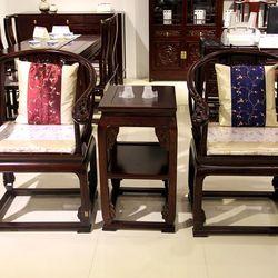 百年印记  Y01-1 皇宫圈椅+Y01-2皇宫圈椅茶几