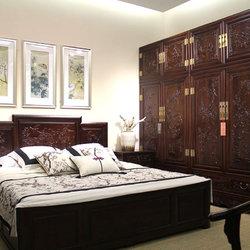 名匠木坊 富贵至尊 双人床