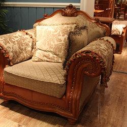 米勒小镇 J006 1+2+3组合沙发