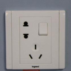TCL照明 一开五孔 插座