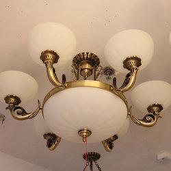 长亮照明 奇型550 铜吊灯
