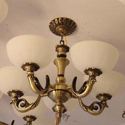 长亮照明 奇型395 铜吊灯