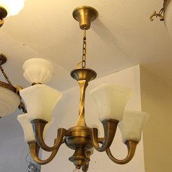 长亮照明 格型580 铜吊灯