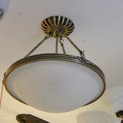 长亮照明 格型145 铜吊灯