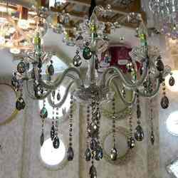 现代宜家灯饰 7025-8头欧式水晶灯
