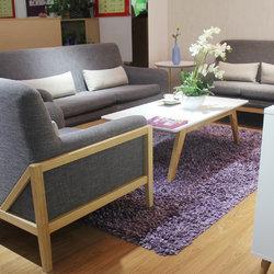 红苹果 AP262组合实木布艺沙发