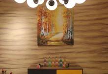 北疆硅藻泥电视背景墙套餐促销2680元/8㎡