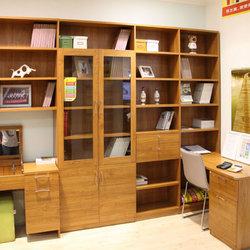 飞美 S413A 书桌书柜组合