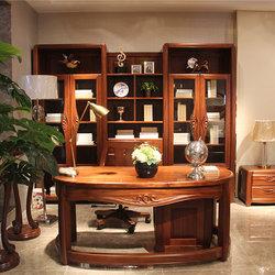 京通光明 JS-S103组合书柜+JS-S101书桌