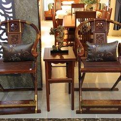 鸿亚博伦旗下品牌  和禾 红檀交椅