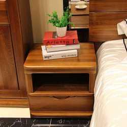 紫榆艺品 7033 床头柜