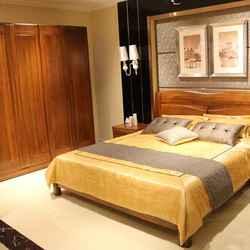 紫榆艺品 7012 双人床