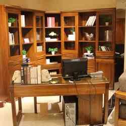 紫榆艺品 7302 转角书柜