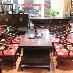 江南神龙 明式茶台