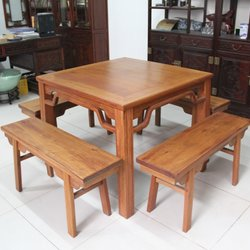 正明红木 方桌