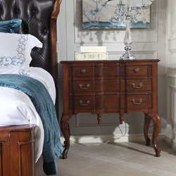 美郡新古典家具 床头柜
