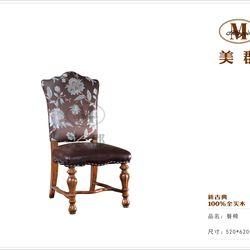 美郡新古典家具  餐椅