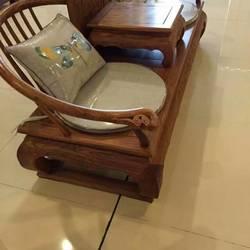 九韵红木花梨木休闲椅