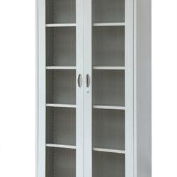 对开门玻璃柜