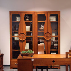 一品木阁 M720 两门书柜