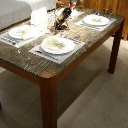 摩卡系列-1756b大理石餐桌