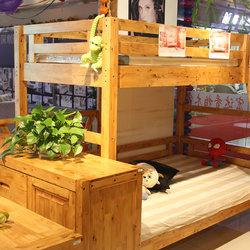 宏达香柏木子母床