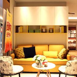 意风家具 沙发床+书架