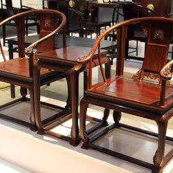 紫檀伽苑 皇宫圈椅三件套