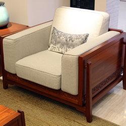 一品木阁 单人沙发
