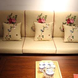万寿轩 大富贵沙发三人位
