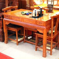 紫福堂 茶桌四椅