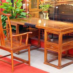 紫福堂 书桌+书椅 套餐