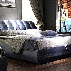 非同家具 双人床+床垫 套餐