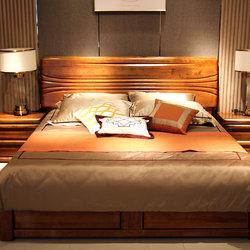 瀚林家具 双人床