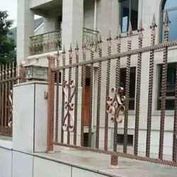 不锈钢镀铜栏杆